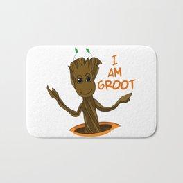 I am Groot Bath Mat