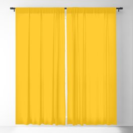 Wizzles 2021 Hottest Designer Shades Collection - Mustard Yellow Blackout Curtain