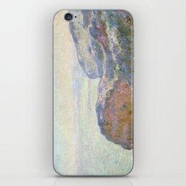 1897-Claude Monet-Val-Saint-Nicolas, near Dieppe (Morning)-25 x 39 iPhone Skin