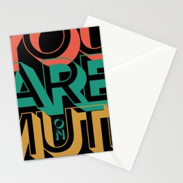 You're on Mute Retro Vintage Style Stationery Cards