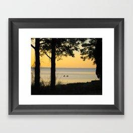 Go Kayaking Framed Art Print