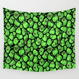 Fifty shades of slime. Wall Tapestry