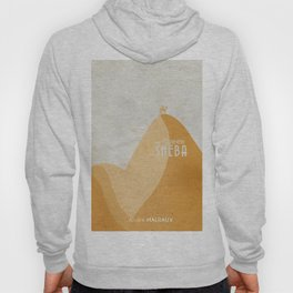 Queen of Sheba, André Malraux, book cover, Yemen, travel, adventure, wanderlust, travelling stories Hoody