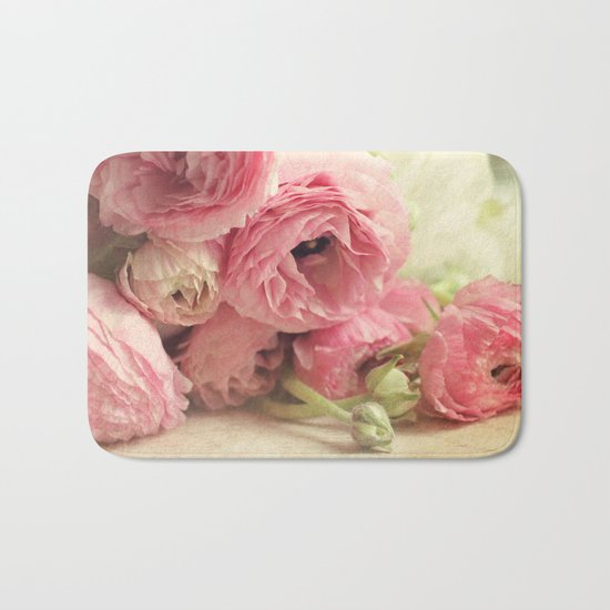 the first bouquet Bath Mat