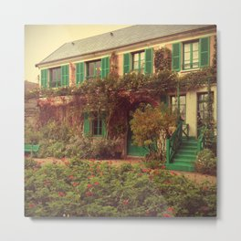 Monet's House - Giverny, France Metal Print