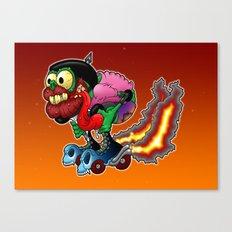 RollerFink Canvas Print