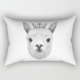 The King Lama Rectangular Pillow