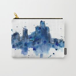 Going Downtown: Detroit Carry-All Pouch