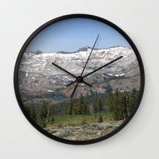 Pyramid Peak Wall Clock