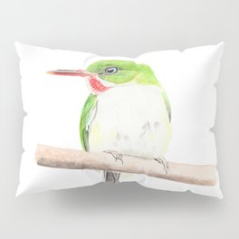 Puerto Rican Tody Pillow Sham