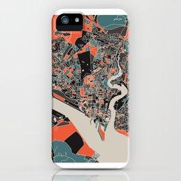 Southampton Multicoloured Print iPhone Case