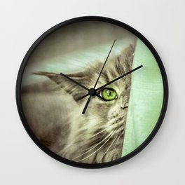 Small brother is watching you Wall Clock