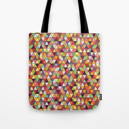 Tricky Triangles Tote Bag