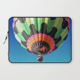 Flying Colorful Hot air Balloon Laptop Sleeve