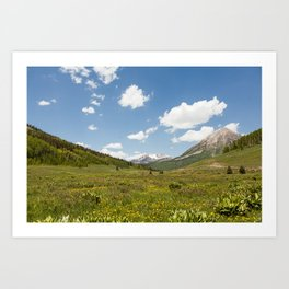 Crested Butte, Colorado Art Print