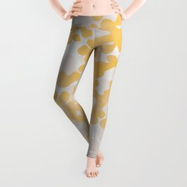 Golden Coral Leggings