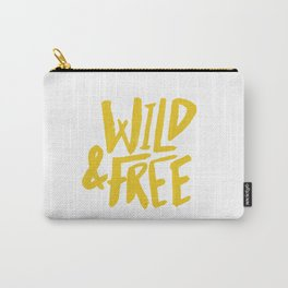 Wild and Free - Sunshine Carry-All Pouch