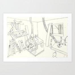 la mueblería de sigfredo Art Print