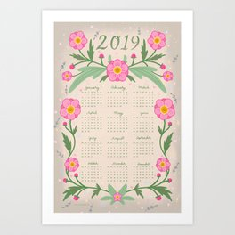 Everything is Made Out of Magic 2019 Calendar Art Print