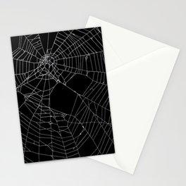 SpiderWeb Web Stationery Cards