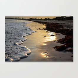 Sunset Steps Canvas Print