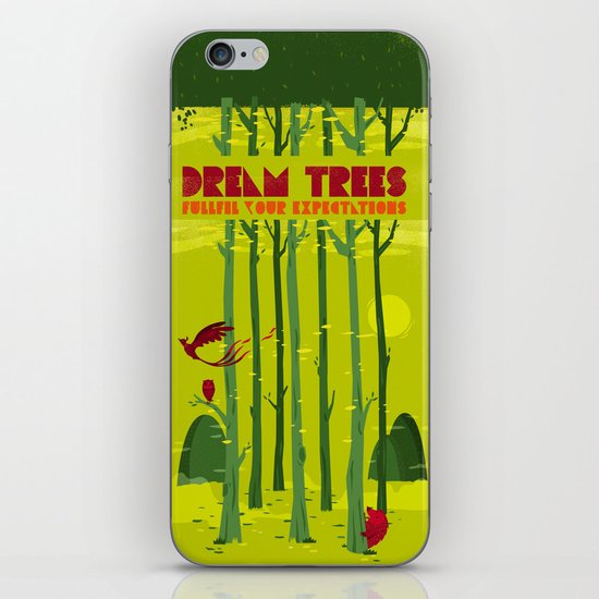 Dream Trees iPhone & iPod Skin