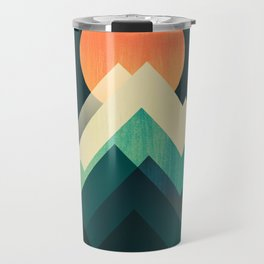Ablaze on cold mountain Travel Mug