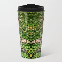 Inktober Water Lily Naiad Travel Mug