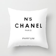 n.5 Throw Pillow