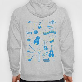 The Spirit of Jazz Pattern Hoody