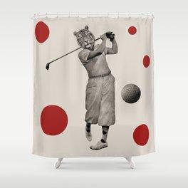 Anthropomorphic N°13 Shower Curtain