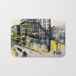 Flatiron Mixed Media Bath Mat
