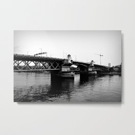 Bridge City Metal Print