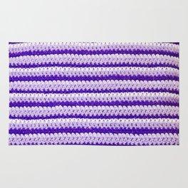 Purple Stripes Rug