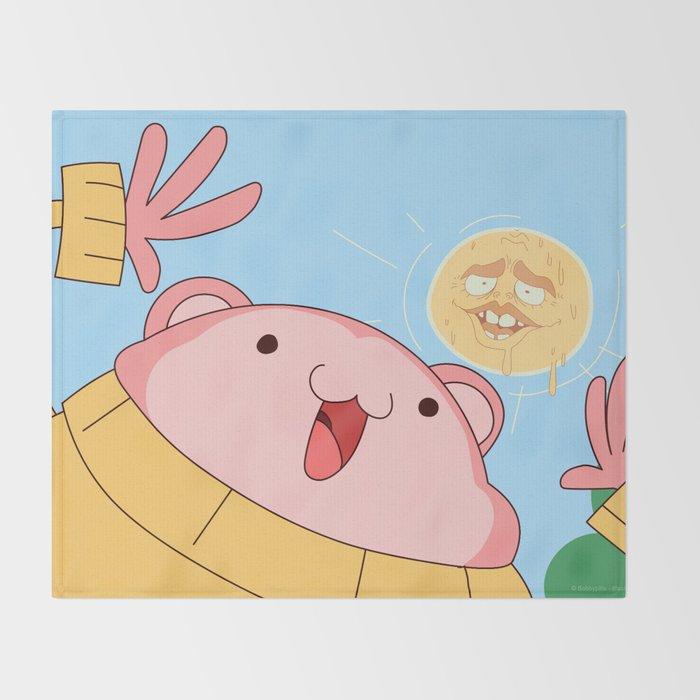 My name is Peepoodo Throw Blanket
