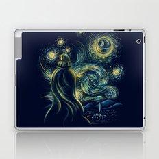 Death Starry Night Laptop & iPad Skin