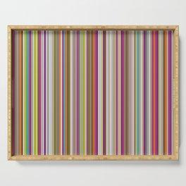 Stripes & stripes Serving Tray