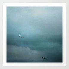 Chasing the Storm Art Print