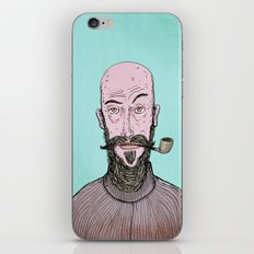 The Hipster iPhone & iPod Skin