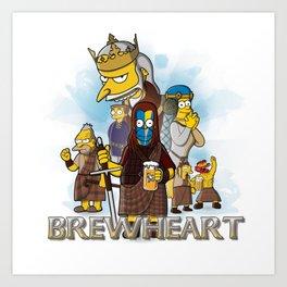 Brewheart Art Print