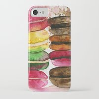 macarons iPhone & iPod Cases featuring macarons by Olga Gridneva