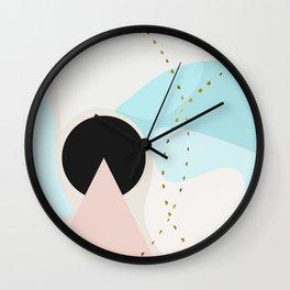 Modern minimal forms 6 Wall Clock
