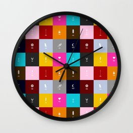 Demigods group Wall Clock