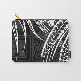 Vintage Samoan Tapa print Carry-All Pouch