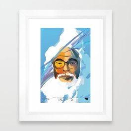 Miyazaki Framed Art Print