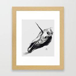 Death To Lisa Frank Framed Art Print