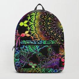 Rainbow Kaleidoscope Mandala Backpack