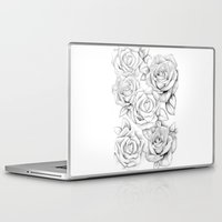roses Laptop & iPad Skins featuring roses by iphigenia myos