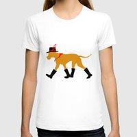 great dane T-shirts featuring Wanderlust Great Dane by Doggen im Haus
