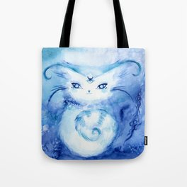 Serena Cat : Peace Tote Bag
